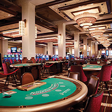 Horseshoe Casino Blackjack tables