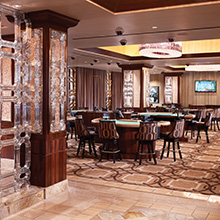 Horseshoe Casino gaming area
