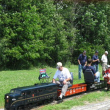 Medina County mini train