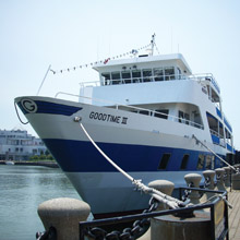 Goodtime III docked at Northcoast Harbor