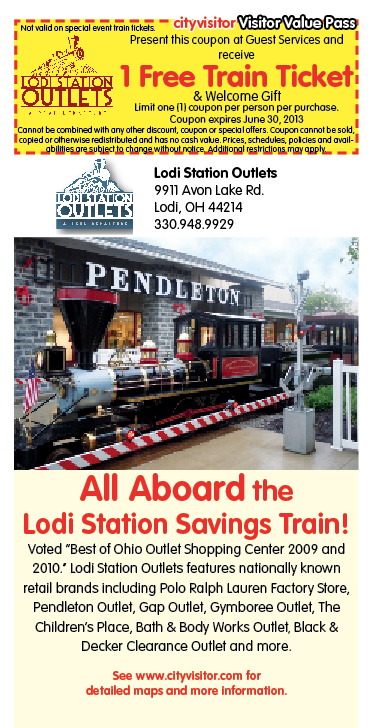 Lodi Station Outlets coupon