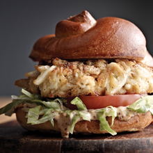 Brick House Crab Cake Sandwich