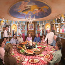 Buca pope table