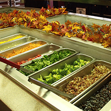 Cherry O Southern Buffet salad bar