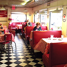 The Diner on 55th web booths