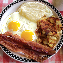 The Diner on 55th full belly breakfast