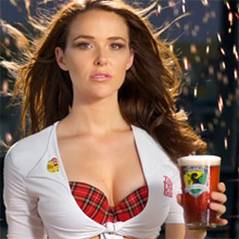 Tilted Kilt girl