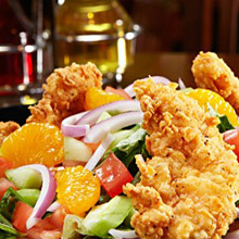 Tilted Kilt Chicken Tender Salad