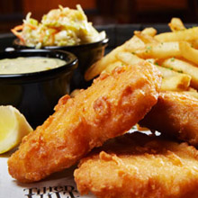 Tilted Kilt fish and chips