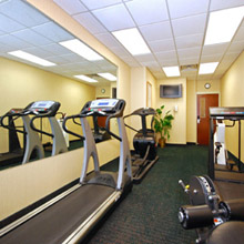 Best Western Airport fitness center