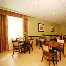 Best Western Airport dining area
