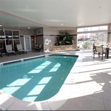 Cambria Suites Akron Canton Airport pool