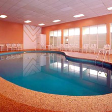 Quality Inn Wickliffe indoor heated pool