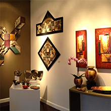 Zeber-Martell gallery display