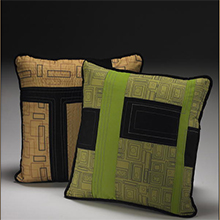 Zeber-Martell pillows