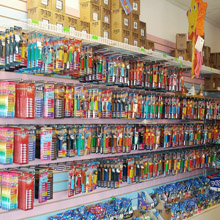 b.a. Sweeties Pez display